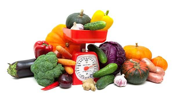 Viser en bred variation af forskellige grøntsager